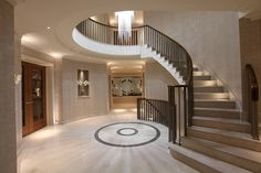 Full size of interior design for small entrance hall ideas halls creating the decorating winsome t . Curved Staircase, Grand Staircase, Staircase Design, Stairs, Small Entrance Halls, Modern Entrance, Entrance Lighting, Stair Lighting, Lighting Design
