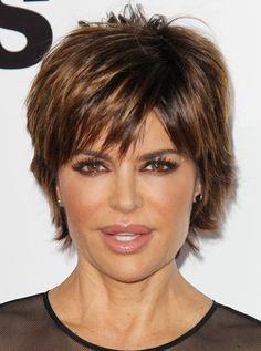 lisa rinna short hair back view - Google Search