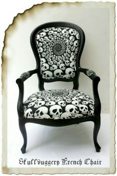 One day I will have a room just for me; it will be decorated in skulls!