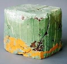 """Jonathan Mess  Landfill No.8, 2008.Various clays, glazes and stains, 80% recycled;   10"""" x 12"""" x 10"""""""