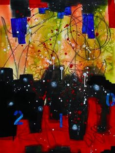 "Frederick Wilcott, ""Storm Warning"", Mixed media, 20 x 26"", 2013"