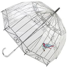 Fulton Umbrella is the best umbrella that I have ever owned!  Mine is clear plastic with black trim just like Queen Eizabeth II :)