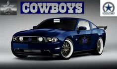 Cowboys Mustang - 2 of my favorite things put together