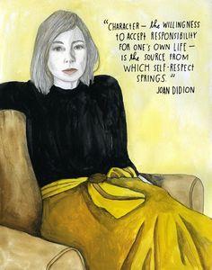 Joan Didion on Self-Respect | Brain Pickings