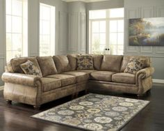 3190146 Ashley Furniture Larkinhurst - Earth D Armless Chair