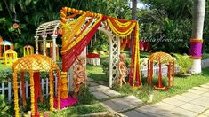 Marigolds May Be Yellow, But Their Trend Shall Stay Evergreen- Theme Wedding Decorations