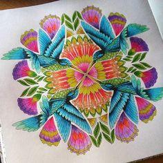Colouring...kaleidoscope