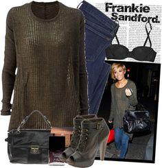 Frankie Sandford Style.