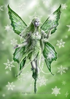 Green - snowflake faerie @ http://smg.photobucket.com