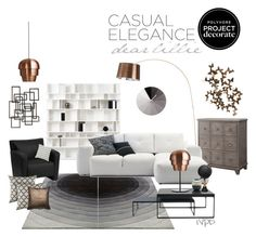 """""""Casual elegance!!"""" by iveparedes ❤ liked on Polyvore featuring interior, interiors, interior design, home, home decor, interior decorating, Alchemy Collection, BoConcept, Modena and Rizzy Home"""