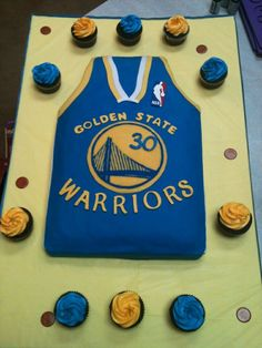 golden state warriors cake - Google Search