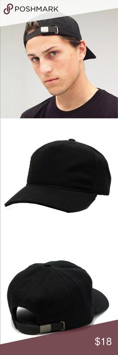5 Panel Unstructured Leather Strapback Hat Hey Poshers! Grab this 5 Panel Unstructured Leather Strapback Hat multiple quantities available. Discount for bundles!! Captain Headwear Accessories Hats
