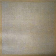 Agnes Martin, Grey Stone II, 1961