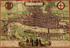 Most fantastic collection of old colored maps of European/Asian cities!!!