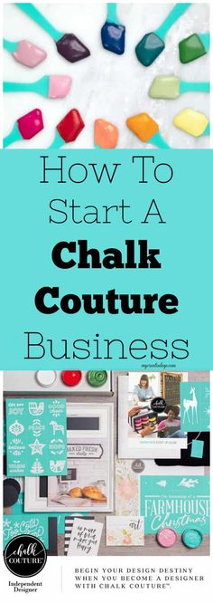 Thinking about becoming an Independent Designer with Chalk Couture? This post has all the information you need on how to start a Chalk Couture business.