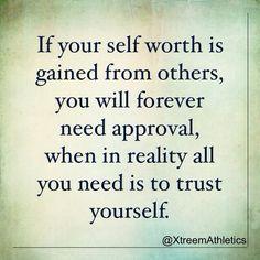 #TrustYourself