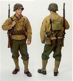 2. sv. válka - Pěšák 82nd / 101st Glider Infantry : USA (USA)