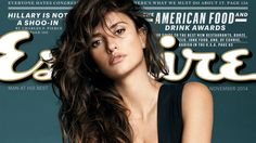 Penelope Cruz, 40, is stunning as Esquire's Sexiest Woman Alive