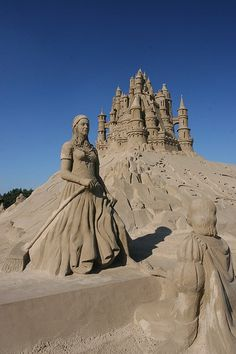 Sand Sculptures... #art