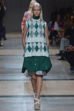 Sfilata Sacai Paris - Collezioni Primavera Estate 2014 - Vogue