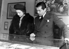 Chanel appears here with premier dancer Serge Lifar, with Sergei Diaghilev's legendary Ballet Russes. Apart from   having a brief relationship with avant guarde composer Igor Stravinsky (Rite of Spring), Chanel contributed her vast talents towards costume designs for the Ballet Russes.