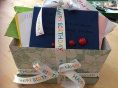 Wenn.... Kiste zum Geburtstag