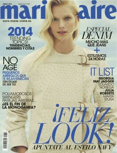 January's Marie Claire covers from all over the world | Estilo Tendances