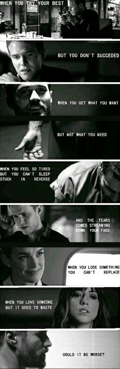 """I already pinned this but I found it again and I'm looking at this and listening tithe song and thinking about fitzsimmons and how accurate the lyrics in the second to last frame with skein it """"when you love someone but it goes to waste"""" and I'm like crying someone help, this is so sad :("""
