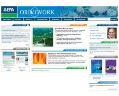 EPA ORD@Work Intranet (Home Page Design)