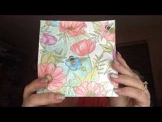 Inside the Lines Specialty Designer Series Paper - YouTube