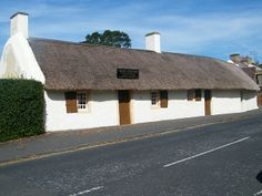 Scottish Poet Robert Burns - Alloway South Ayrshire Scotland - built by his father in 1757