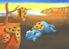 herinterpretatie van een schilderij: Salvador Dali, De volharding der herinnering, 1931. | izi.TRAVEL