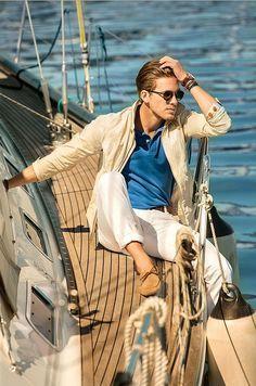 italian fashion men sea boat sail - Google zoeken