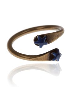 Blue Star Ring, Isabel Marant. Shop more jewellery from the Isabel Marant collection online at Liberty.co.uk.
