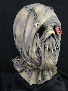 Harold Halloween Horror Haunt Latex Mask Prop, NEW