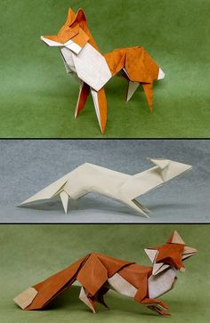 Three Ways of Looking at a Fox by M@ttyGroves