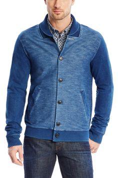 Whibley-H, Cotton Jersey Varsity Jacket | HUGO BOSS