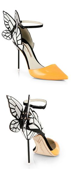 Butterfly pumps // Sophia Webster #shoes #footwear_design