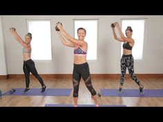 Day 18: 30-Minute Flat Belly Workout | Class FitSugar - YouTube