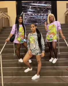 Swag Outfits For Girls, Teenage Girl Outfits, Cute Swag Outfits, Teen Fashion Outfits, Preteen Fashion, Hipster Fashion, Matching Outfits Best Friend, Best Friend Outfits, Cute Birthday Outfits