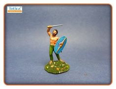 052 1/72 20mm HO/OO Roman Empire ESCI barbarians war games painted toy soldier