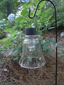 DIY Hanging Solar ~Garden Lights~