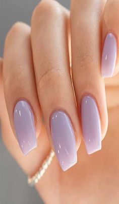 stunning light purple nail art