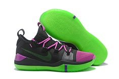 2e72dd134ef2 2018 Nike Kobe AD Black Purple-Green Cheap