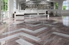 rectified wood effect tile floor ng kutahya 2 Wood Effect Tiles for Floors and Walls: 30 Nicest Porcelain and Ceramic Designs