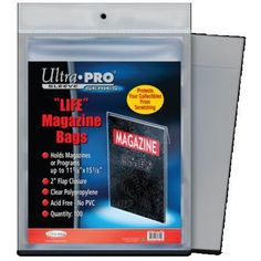 Ultra-Pro 4X6 Top Loaders 25 Per Pack Quantity of 100