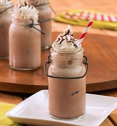 Summer's gone and winter's not quite here, so try this Iced Hot Chocolate for a cool transition!