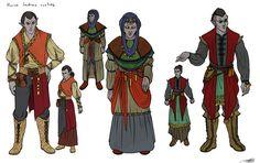 Dunmer House Sadras outfits