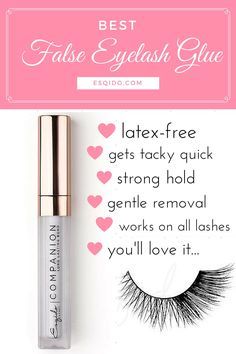 Does your lashes fling off at the corners? Try this...it'll lock it down for the entire day! See why this is rated the #1 glue for false eyelashes.