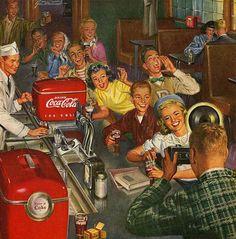 American diner - theme inspiration